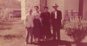 Tommy Brown, Margaret Dee White Brown, Hattie and Bob White